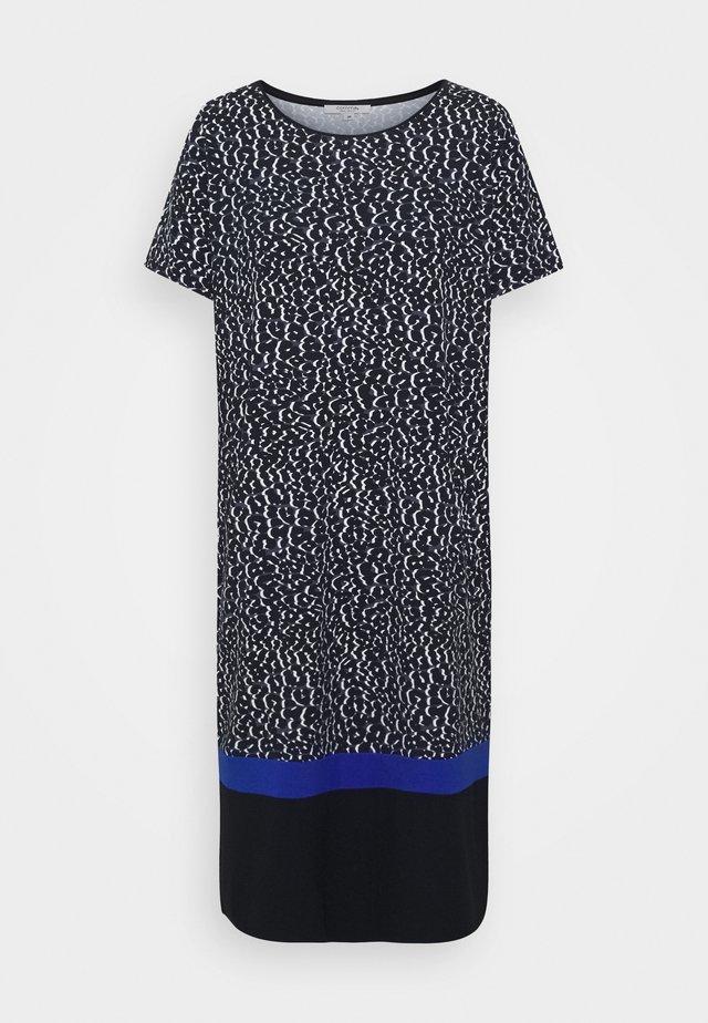 KURZ - Robe en jersey - dark blue