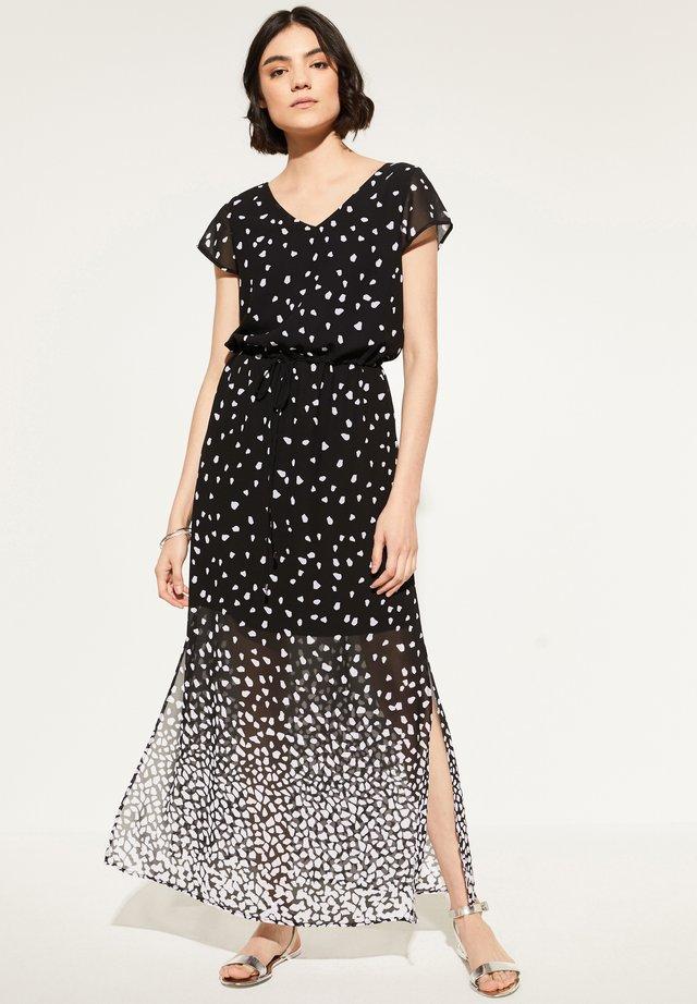 MIT TUNNELZUG - Maxi dress - black