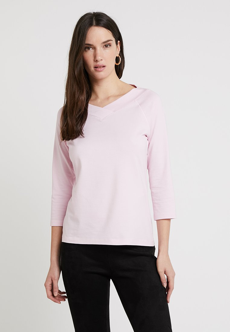 comma casual identity - 3/4 ARM - Long sleeved top - rose