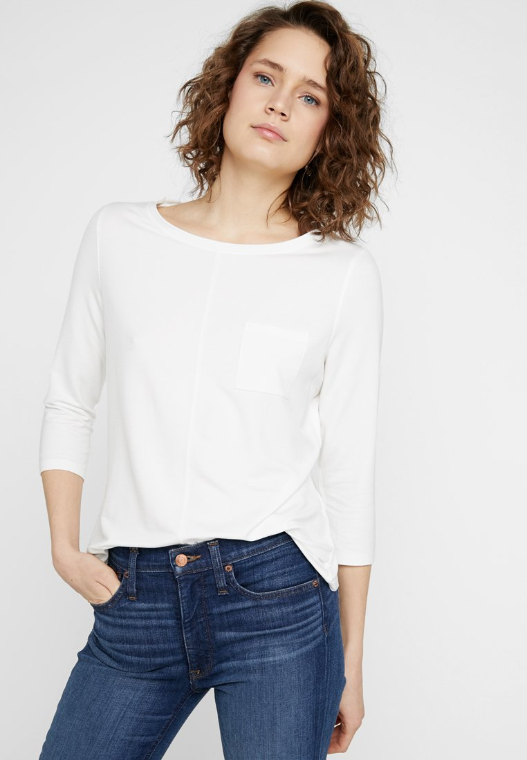 comma casual identity - Long sleeved top - ivory
