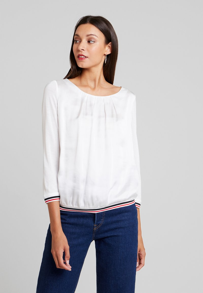 comma casual identity - 3/4 SLEEVE - Bluser - ivory