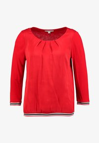 comma casual identity - 3/4 SLEEVE - Blouse - red - 3