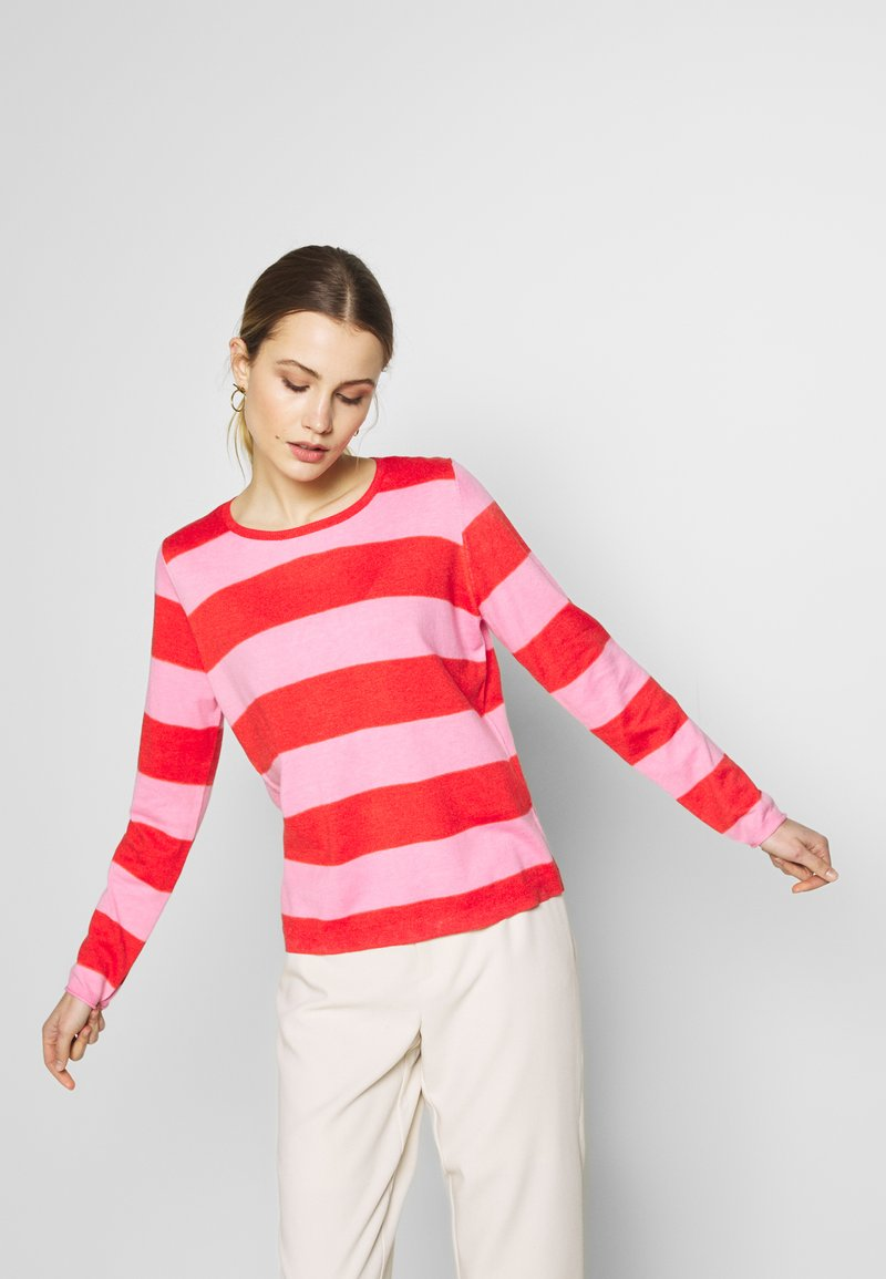 comma casual identity - LANGARM - Jumper - red