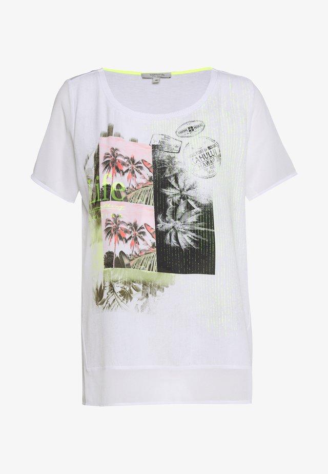 KURZARM - Bluse - white