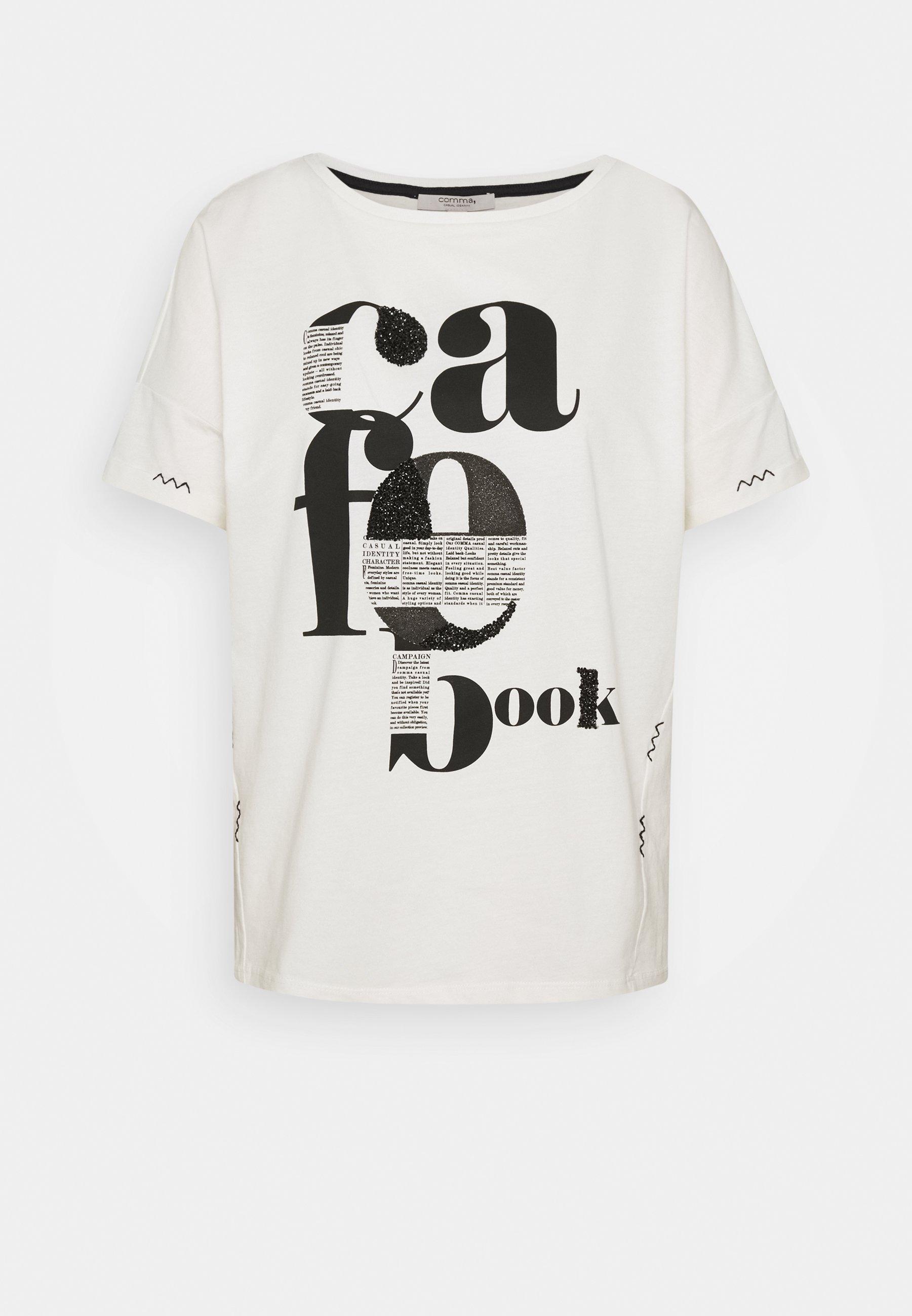 Print T shirt off white Zalando.co.uk