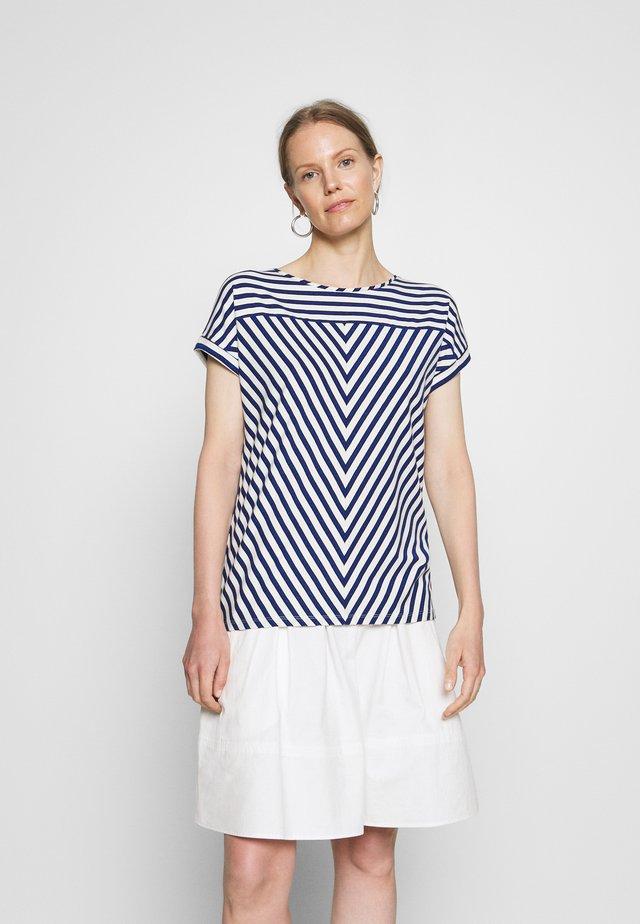 KURZARM - T-shirts print - blue
