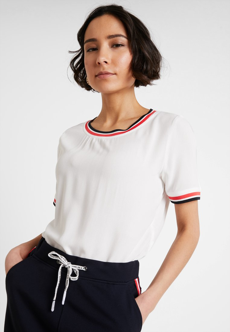 comma casual identity - Bluse - ivory