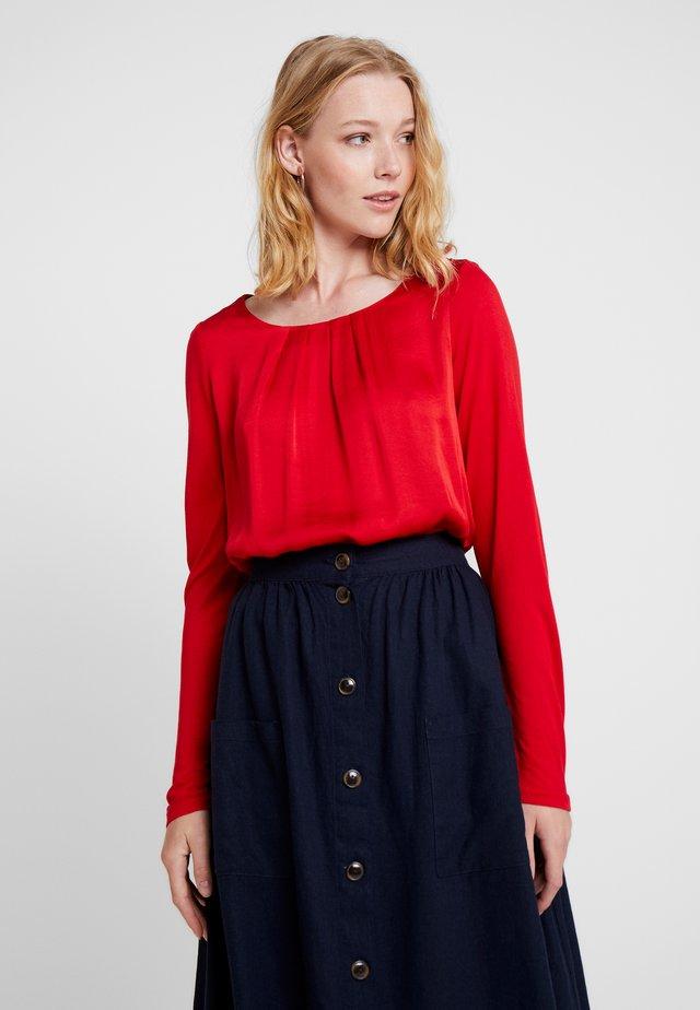 LANGARM - Bluse - red