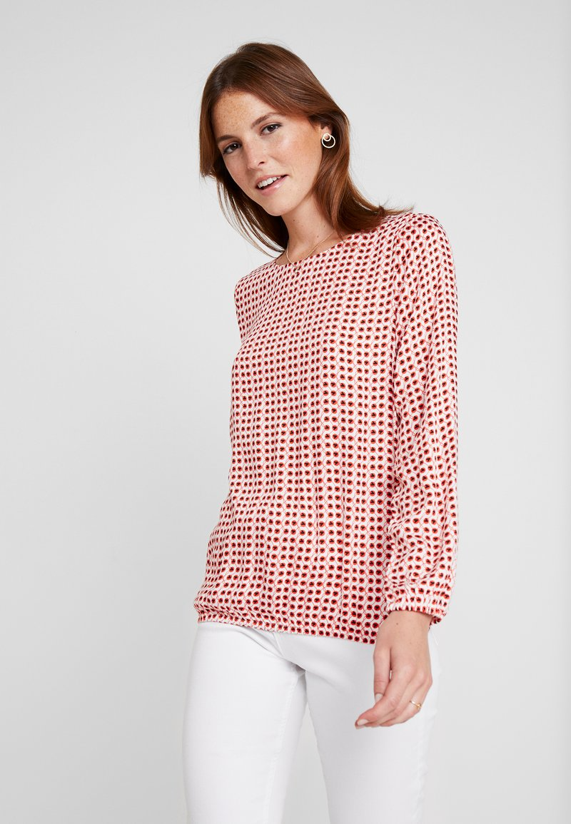 comma casual identity - BLOUSE LONGSLEEVE - Bluse - red