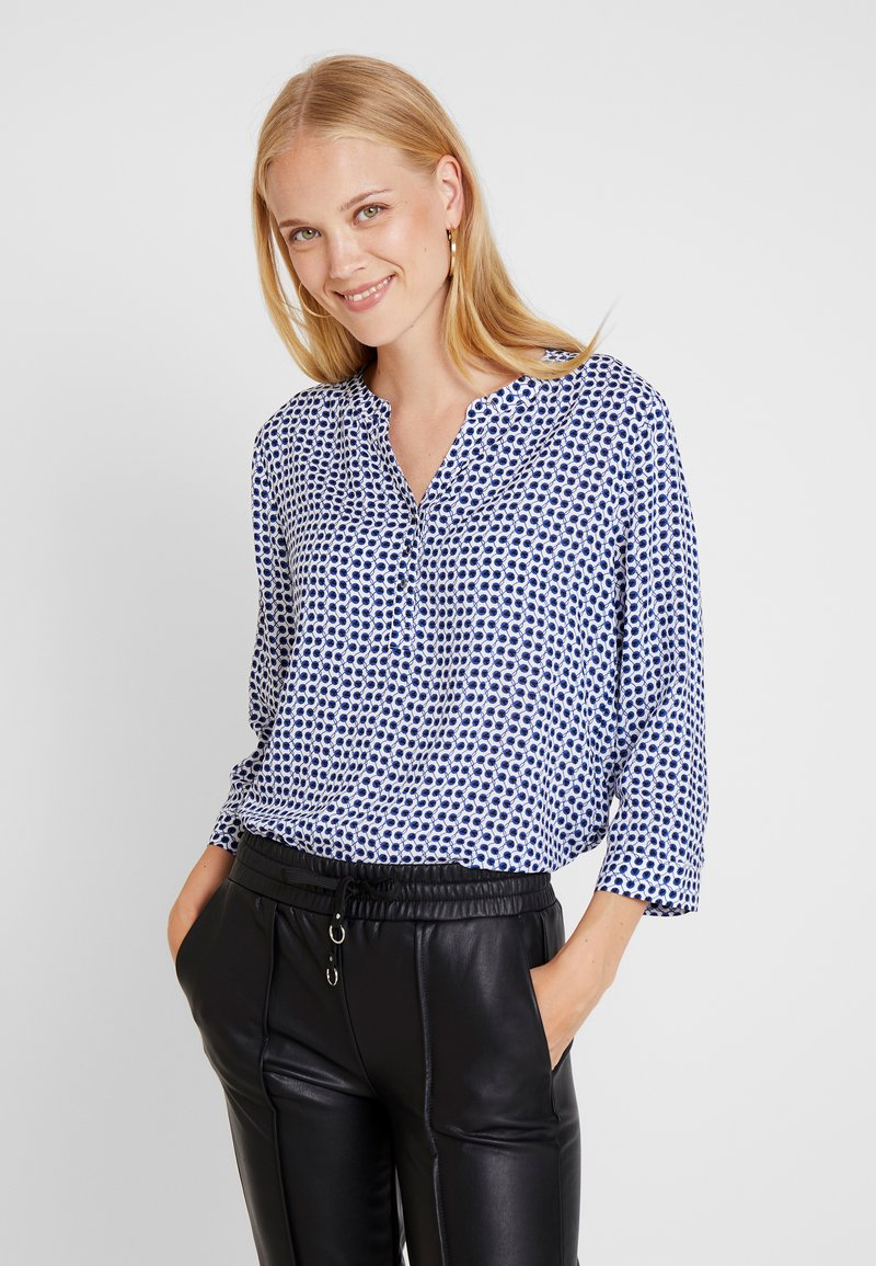 comma casual identity - BLOUSE 3/4 SLEEVE - Bluse - blue