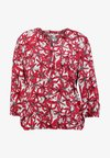 BLOUSE 3/4 SLEEVE - Pusero - red