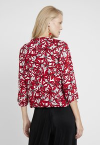comma casual identity - BLOUSE 3/4 SLEEVE - Pusero - red