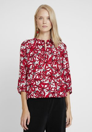 BLOUSE 3/4 SLEEVE - Bluzka - red