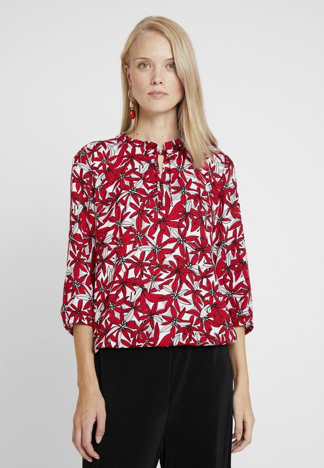 BLOUSE 3/4 SLEEVE - Blouse - red