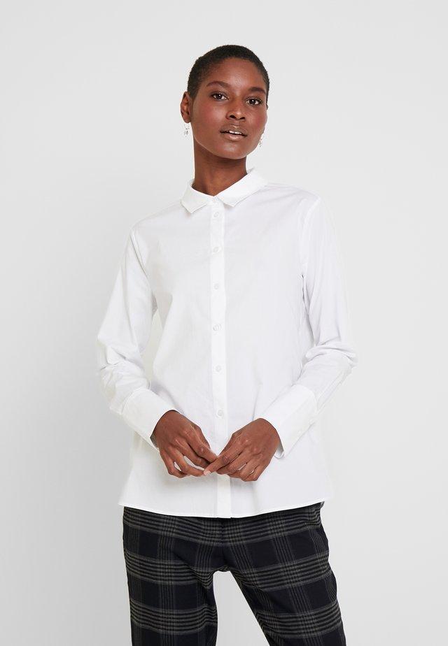 LANGARM - Button-down blouse - white
