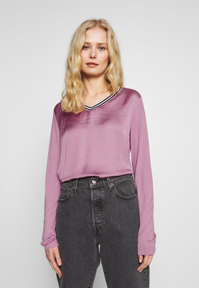 LANGARM - Long sleeved top - rose