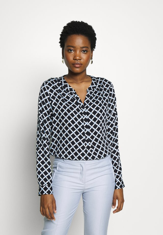 LANGARM - Blouse - blue