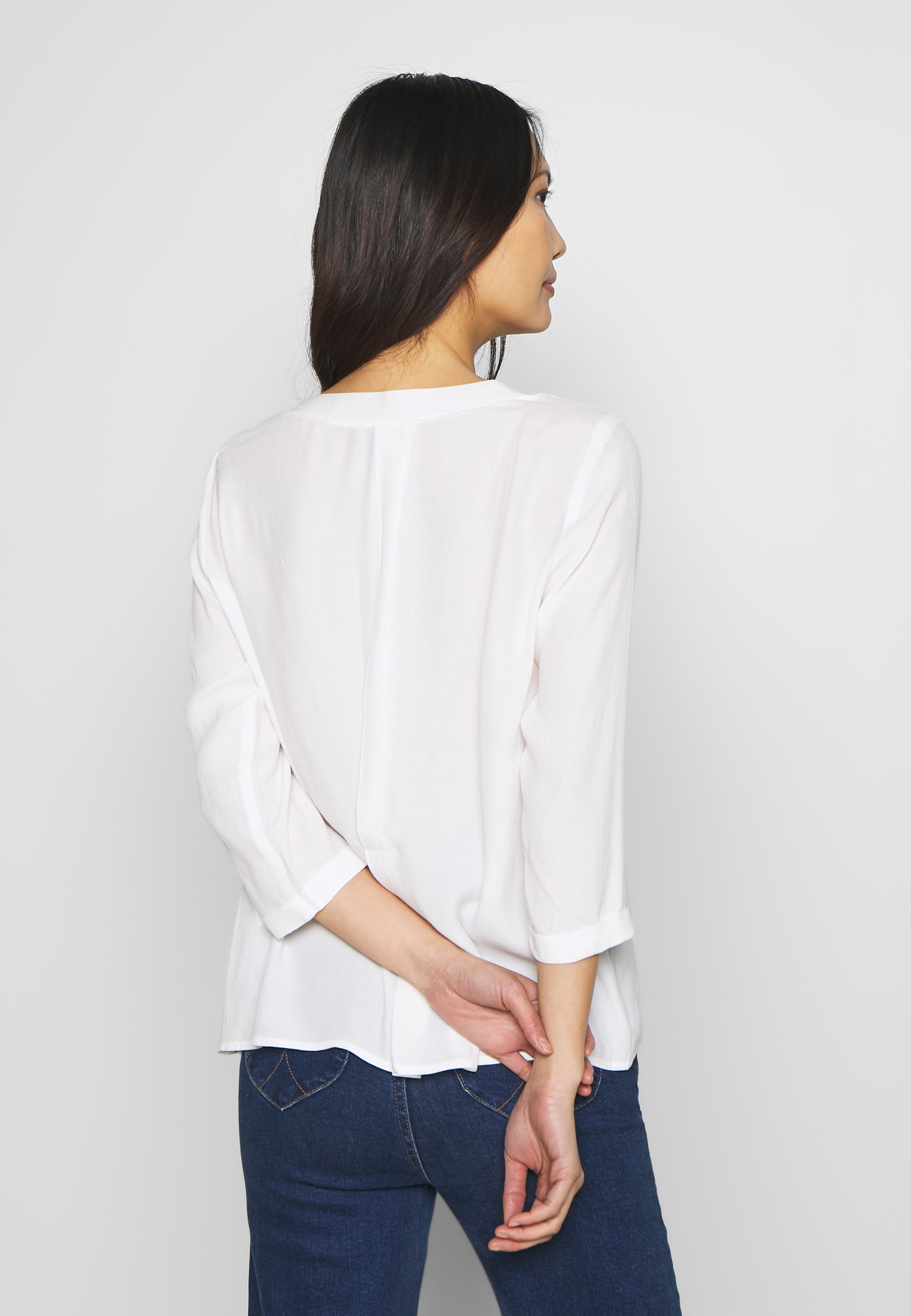 comma casual identity Bluser - ivory