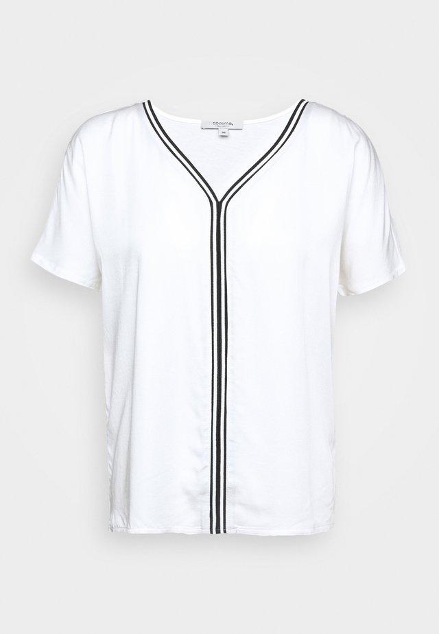 KURZARM - Bluzka - white