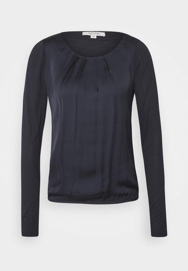 LANGARM - Bluse - dark blue