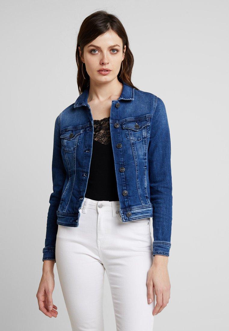 comma casual identity - OUTDOOR - Denim jacket - blue denim