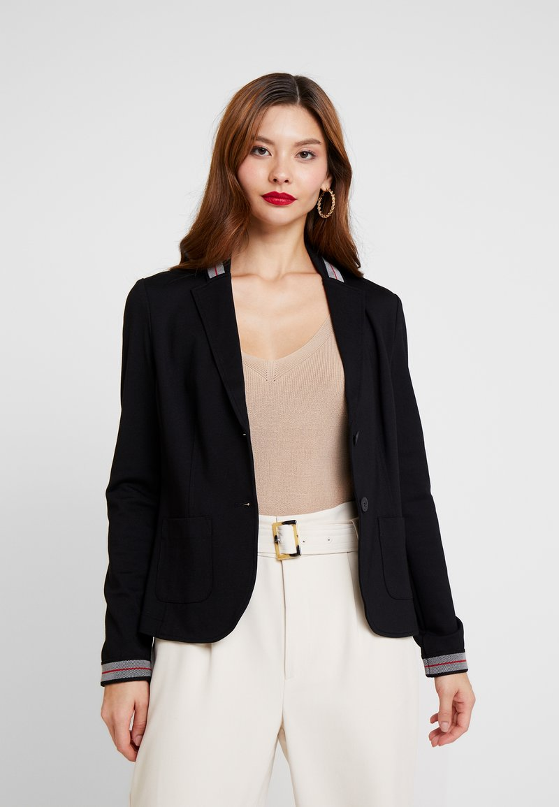 comma casual identity - JACKE - Blazer - black