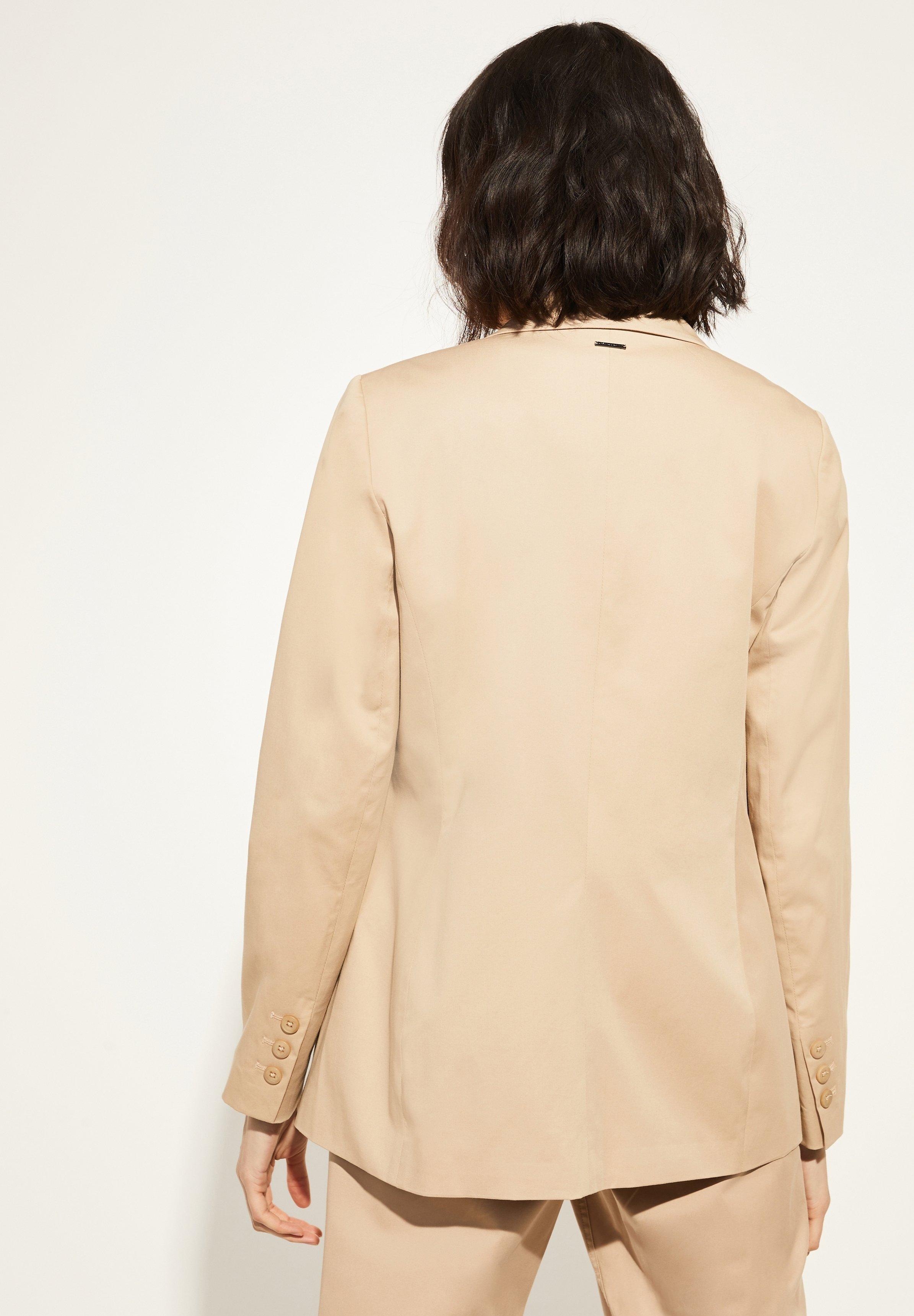 comma casual identity LONG-SHAPE - Blazer - camel | Damenbekleidung billig