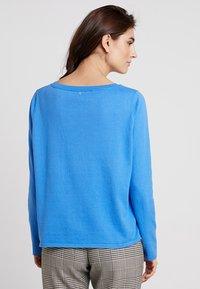 comma casual identity - LANGARM - Svetr - sky blue - 2