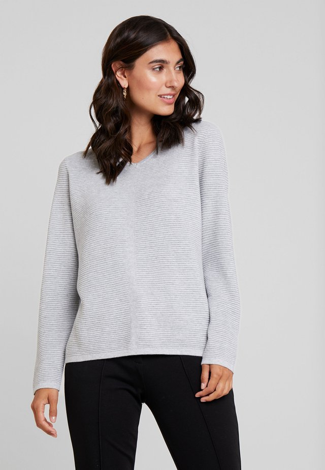 LONGSLEEVE - Sweter - light grey melange