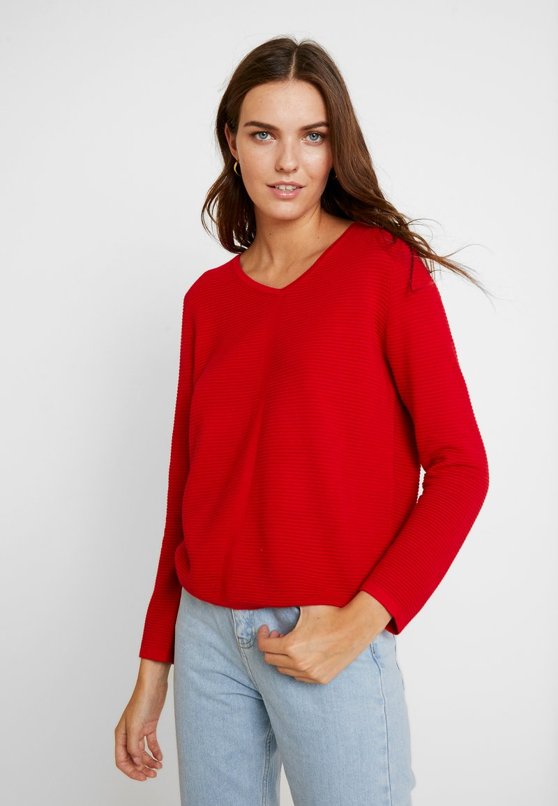comma casual identity - LONGSLEEVE - Pullover - red