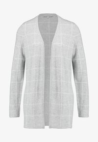 comma casual identity - JACKET SINGLE CHECK - Cardigan - light grey melange - 3