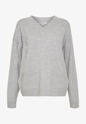 LANGARM - Trui - grey melange
