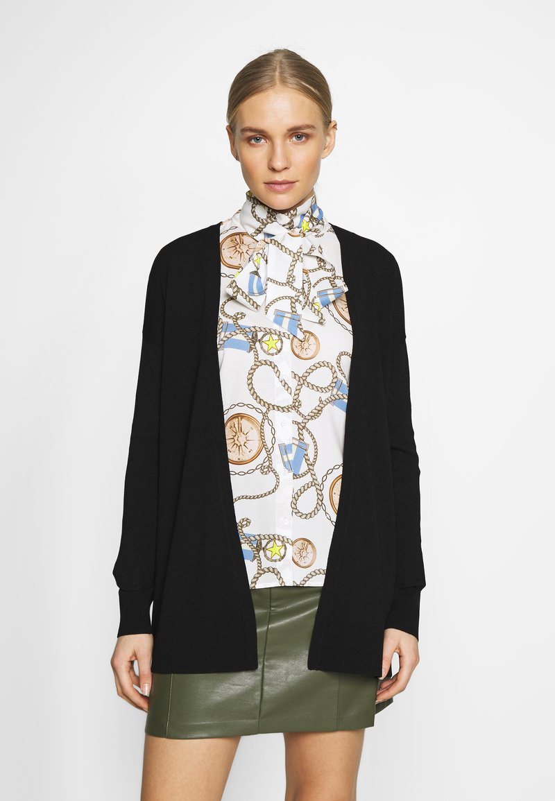 comma casual identity - Strikjakke /Cardigans - black