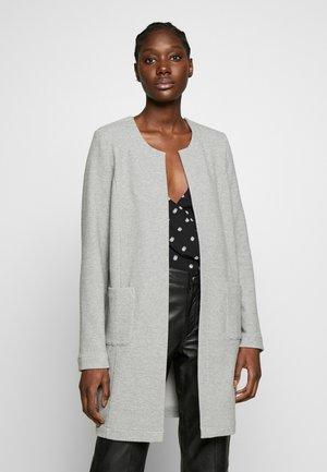 Mikina na zip - light grey