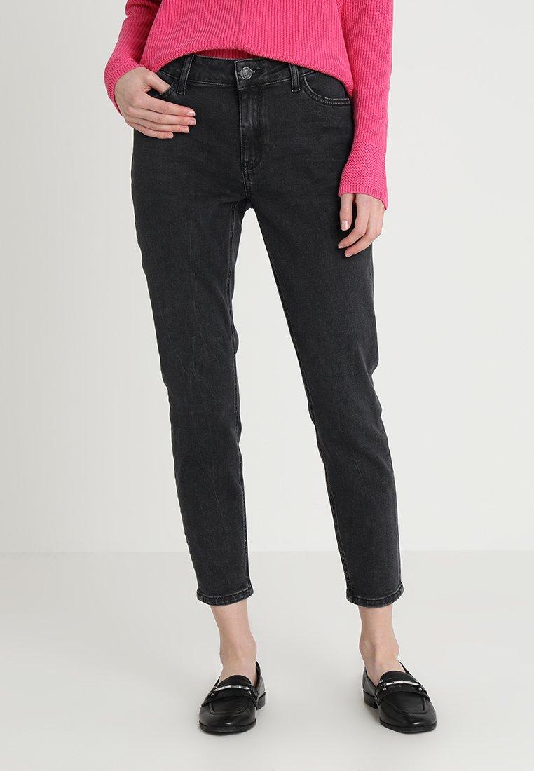 comma casual identity - Slim fit jeans - grey/black denim
