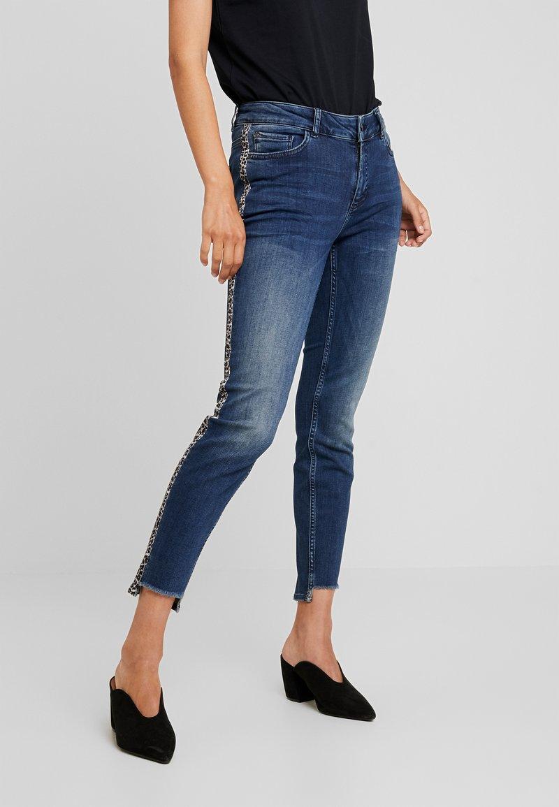 comma casual identity - Slim fit jeans - blue denim