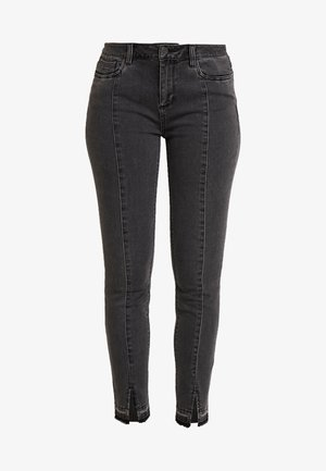 TROUSERS - Jeans Skinny Fit - grey/black