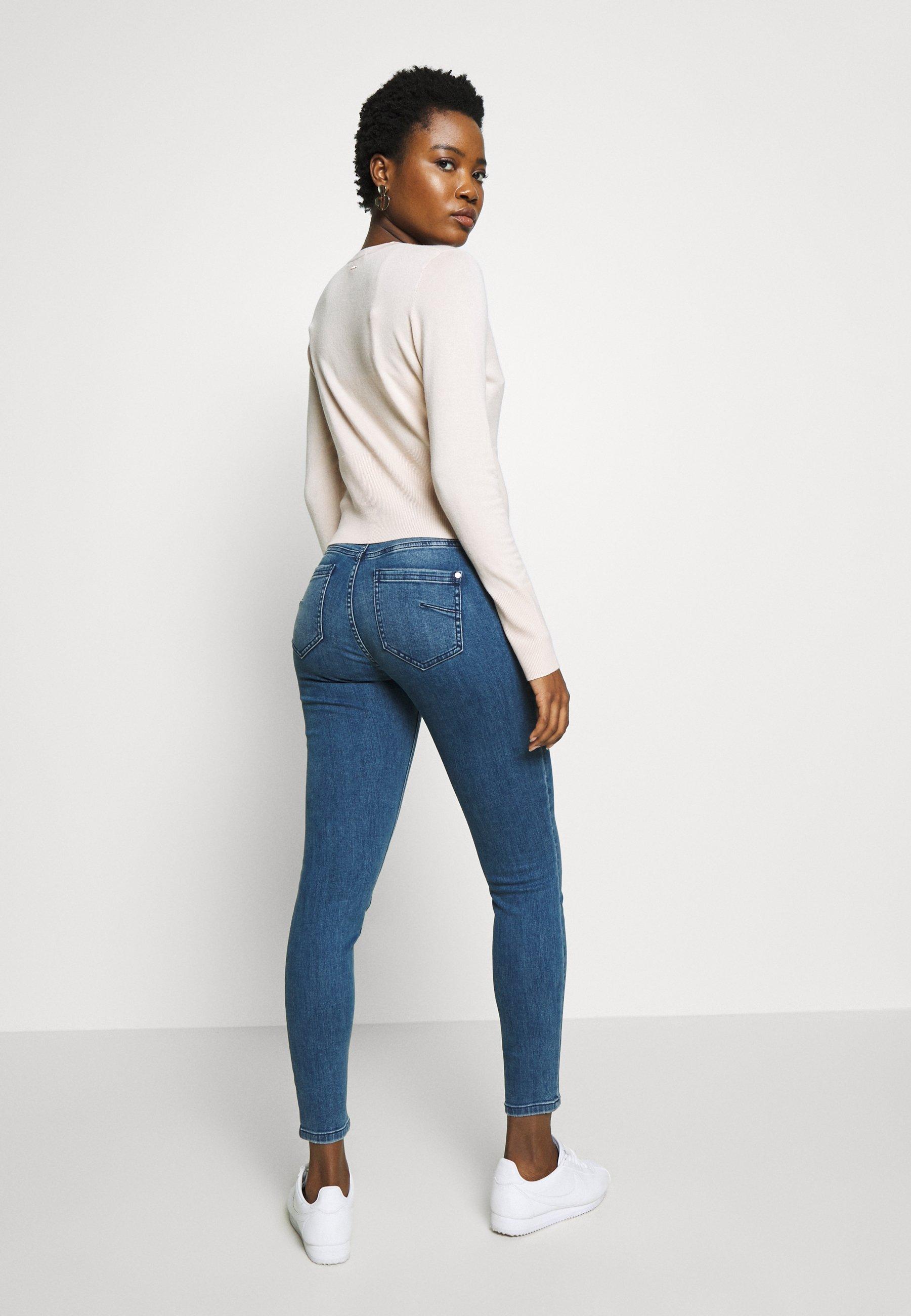 Comma Casual Identity Jeans Slim Fit - Blue Denim Stretch