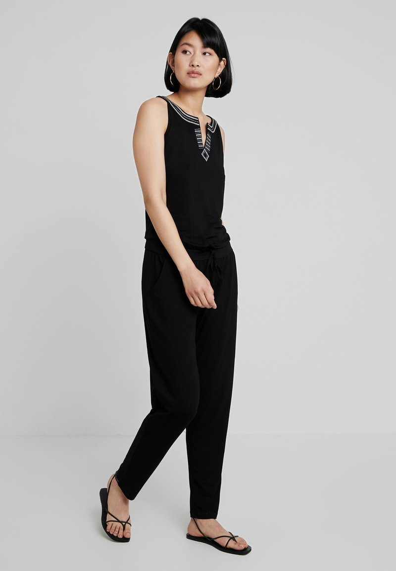 comma casual identity - OVERALL - Jumpsuit - black