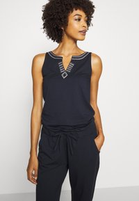 comma casual identity - OVERALL LANG - Jumpsuit - blue - 3