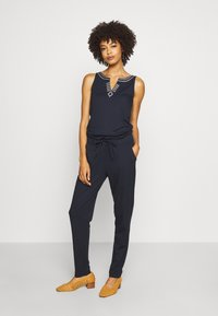 comma casual identity - OVERALL LANG - Jumpsuit - blue - 0