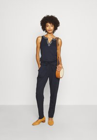 comma casual identity - OVERALL LANG - Jumpsuit - blue - 1