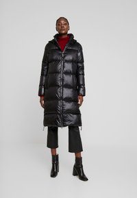 comma casual identity - COAT - Dunfrakker - black - 0