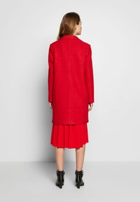 comma casual identity - Classic coat - red - 2