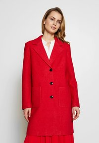 comma casual identity - Classic coat - red - 0