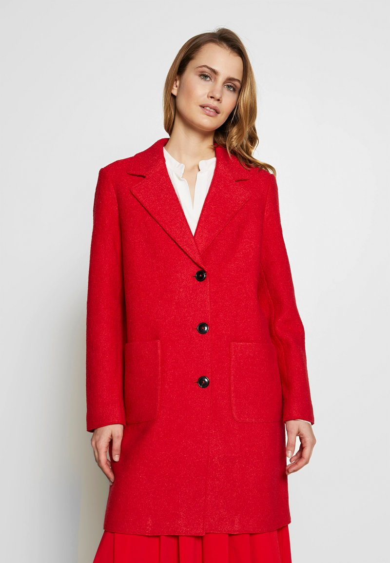 comma casual identity - Classic coat - red