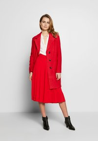 comma casual identity - Classic coat - red - 1
