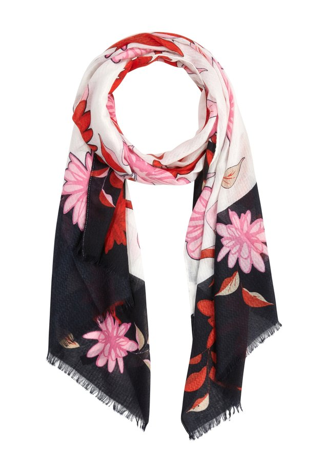 SOFTER  - Scarf - ivory placed print