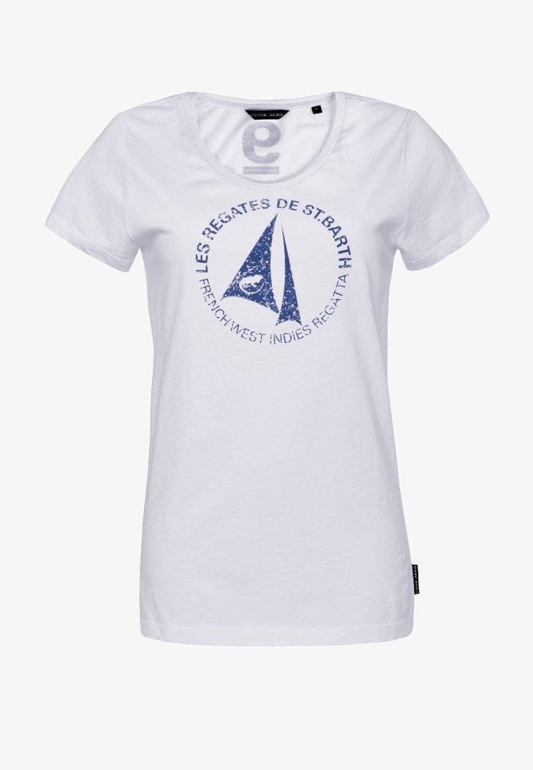 CODE | ZERO - Print T-shirt - white