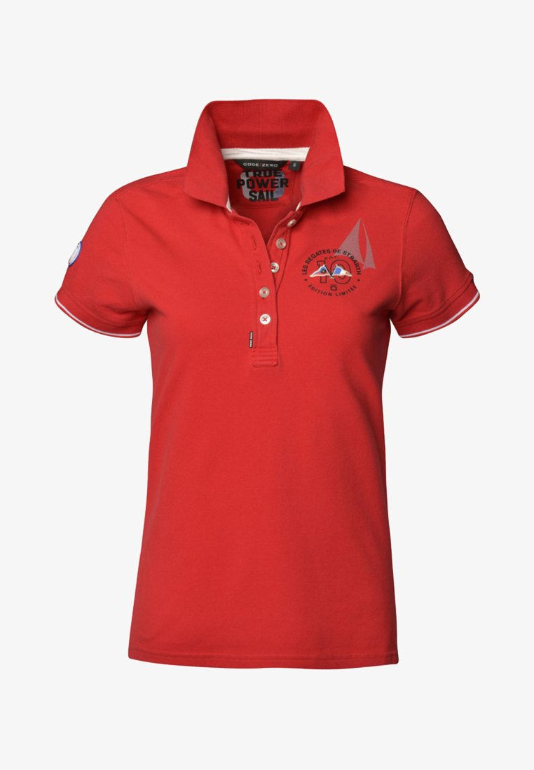 CODE | ZERO - BARTHELEMY CLASSIC - Polo shirt - red